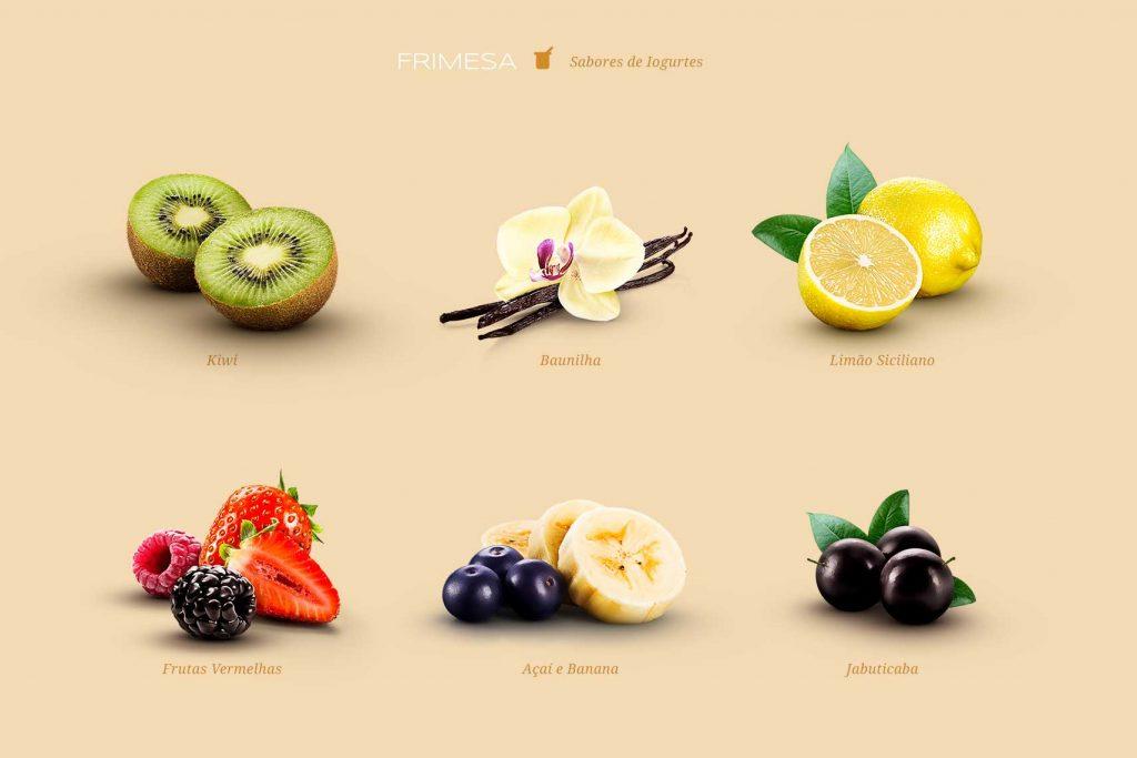 Sabores de Iogurtes: Frimesa