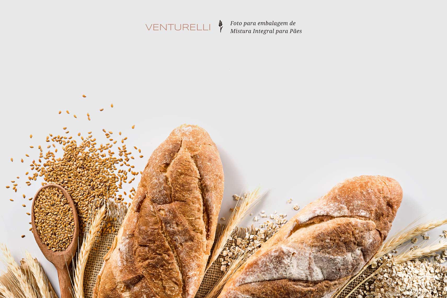 Fotografia de massa pronta para pães
