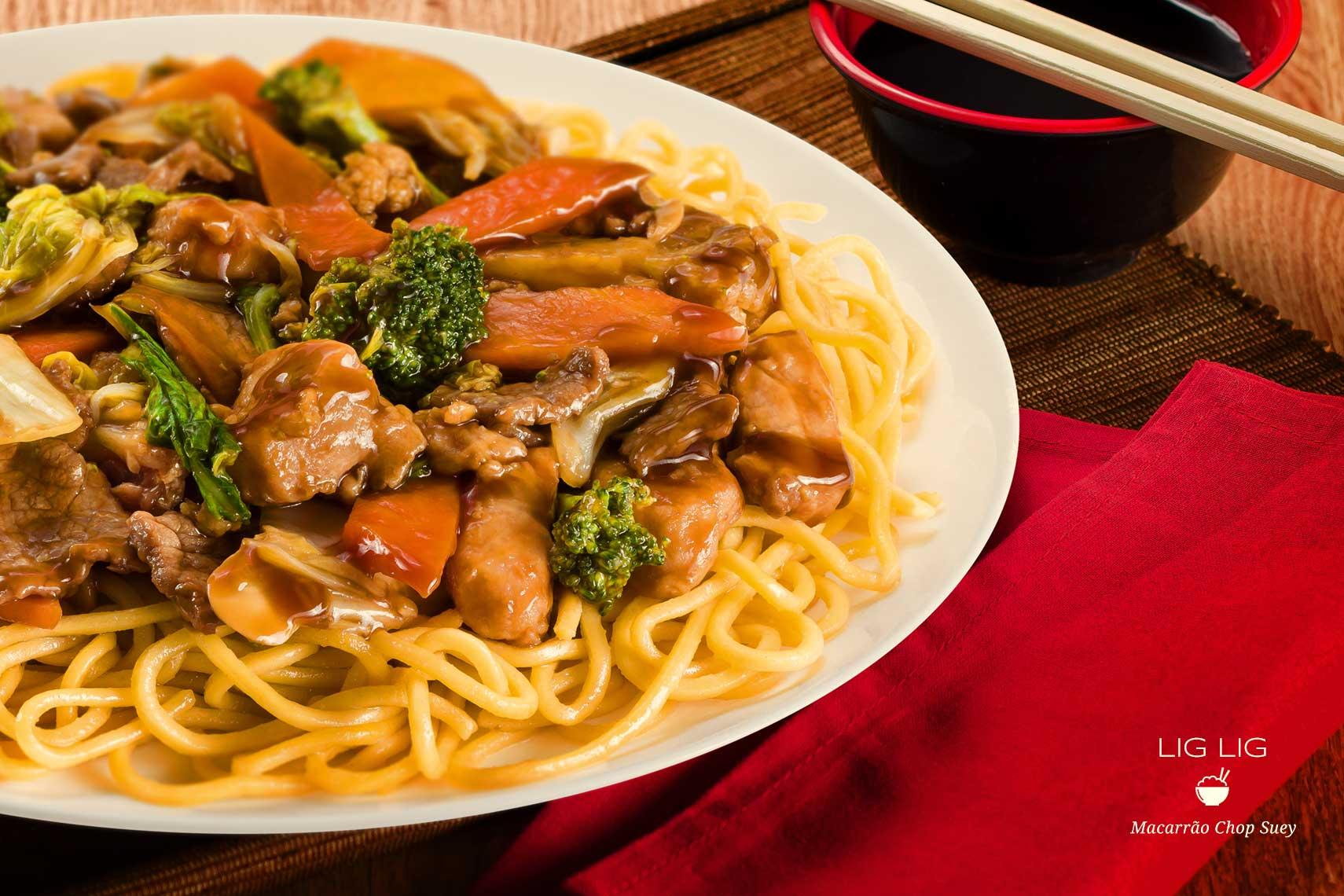 Imagem produzida para uma Rede de Comida Chinesa com mais de 35 franquias