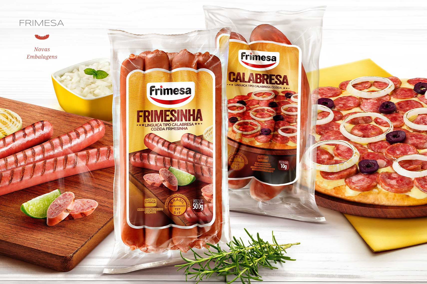 Fotografia de Embalagens de Alimentos